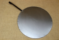 Round Metal Griddle No55 with Long Handle First Depiction