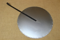Round Metal Griddle No55 with Long Handle Second Depiction