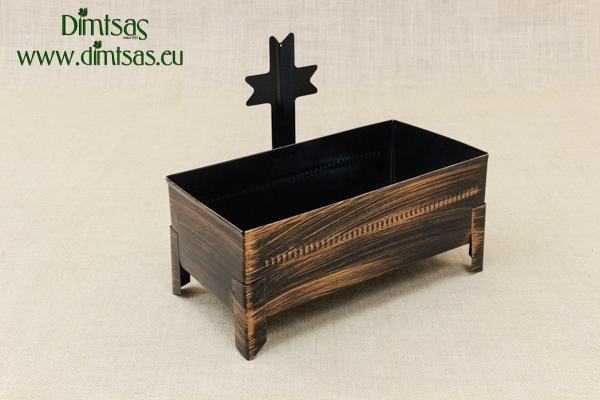 Cemetery Candle Holder for Sand or Water Patina Copper