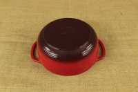 Enameled Cast Iron Dutch Oven - Casserole 4.3 lit Red Fifth Depiction
