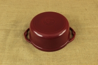Enameled Cast Iron Dutch Oven - Casserole 3.8 lit Patriot Red Second Depiction