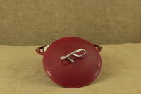 Enameled Cast Iron Dutch Oven - Casserole 3.8 lit Patriot Red Third Depiction