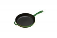 Enameled Cast Iron Skillet Lodge 28 cm Green Fifth Depiction