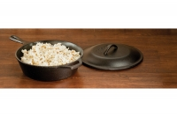 Lodge Cast Iron Chicken Fryer with Iron Cover 26 cm – 2.8 lit – Depth 7 cm Tenth Depiction