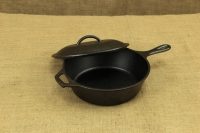 Lodge Cast Iron Chicken Fryer with Iron Cover 26 cm – 2.8 lit – Depth 7 cm First Depiction