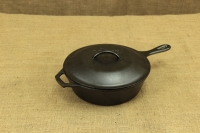 Lodge Cast Iron Chicken Fryer with Iron Cover 26 cm – 2.8 lit – Depth 7 cm Second Depiction