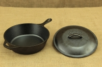 Lodge Cast Iron Chicken Fryer with Iron Cover 26 cm – 2.8 lit – Depth 7 cm Third Depiction