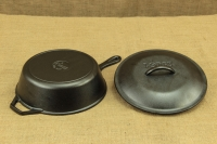 Lodge Cast Iron Chicken Fryer with Iron Cover 26 cm – 2.8 lit – Depth 7 cm Fifth Depiction