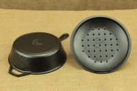 Lodge Cast Iron Chicken Fryer with Iron Cover 26 cm – 2.8 lit – Depth 7 cm Sixth Depiction