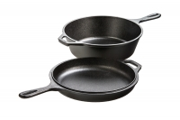 Lodge Cast Iron Combo Cooker 26 cm – 2.8 lit – Depth 7 cm Twelfth Depiction
