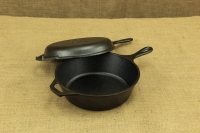 Lodge Cast Iron Combo Cooker 26 cm – 2.8 lit – Depth 7 cm First Depiction
