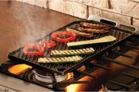 Lodge Cast Iron Reversible Pro Grid Iron Griddle 42x24 cm - Thickness 2 cm Sixth Depiction
