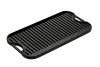 Lodge Cast Iron Reversible Pro Grid Iron Griddle 51x26.5 cm Double Sided Tenth Depiction