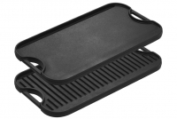 Lodge Cast Iron Reversible Pro Grid Iron Griddle 51x26.5 cm Double Sided Eleventh Depiction