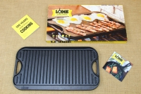 Lodge Cast Iron Reversible Pro Grid Iron Griddle 51x26.5 cm Double Sided First Depiction