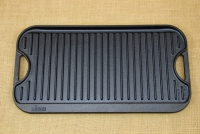 Lodge Cast Iron Reversible Pro Grid Iron Griddle 51x26.5 cm Double Sided Third Depiction