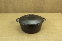 Lodge Cast Iron Dutch Oven with Loop Handles 4.7 lit Second Depiction