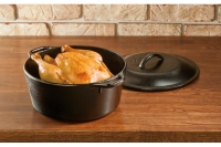 Lodge Cast Iron Dutch Oven with Loop Handles 4.7 lit Fourth Depiction