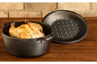 Lodge Cast Iron Dutch Oven with Loop Handles 4.7 lit Sixth Depiction