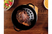 Lodge Cast Iron Dutch Oven with Loop Handles 4.7 lit Seventh Depiction