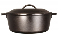 Lodge Cast Iron Dutch Oven with Loop Handles 4.7 lit Ninth Depiction
