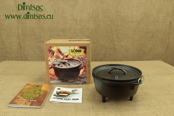 Lodge Cast Iron Camp Dutch Oven 1.9 lit