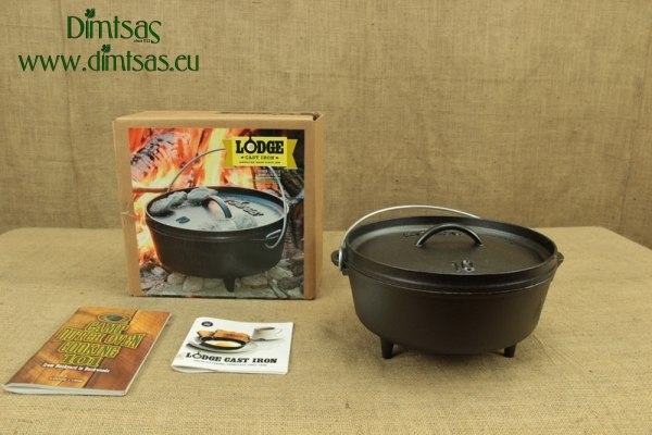 Lodge Cast Iron Camp Dutch Oven 3.8 lit