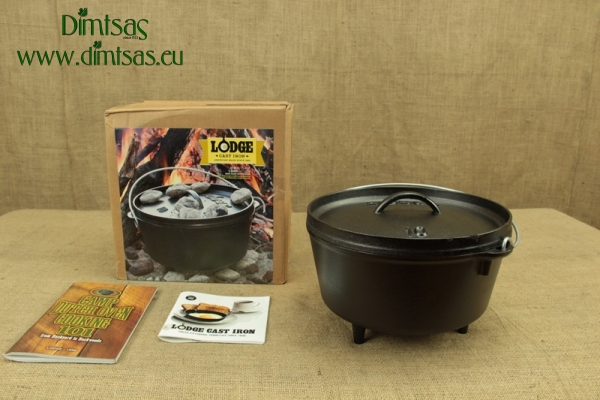 Lodge Cast Iron Camp Dutch Oven 4.7 lit