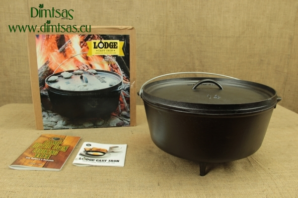 Lodge Cast Iron Camp Dutch Oven 9.5 lit