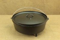 Lodge Cast Iron Camp Dutch Oven 11.4 lit Second Depiction