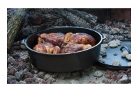 Lodge Cast Iron Camp Dutch Oven 11.4 lit Third Depiction