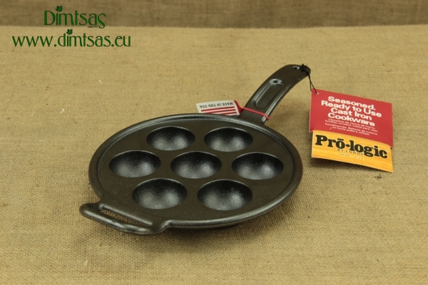 Lodge Cast Iron Aebleskiver Pan 23 cm