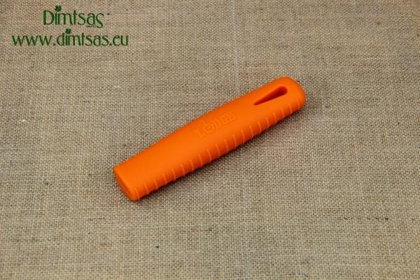 Λαβή Σιλικόνης για Ατσάλινα Τηγάνια Seasoned Πορτοκαλί