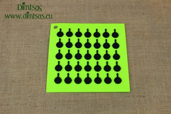 Silicone Trivet Green