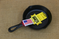 Lodge Cast Iron Heat-treated Skillet 16.5 cm – Depth 3.1 cm Third Depiction