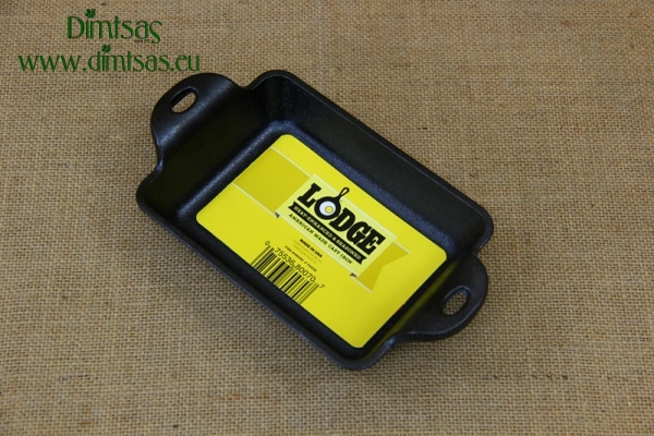 Lodge Cast Iron Heat-treated Rectangular Mini Server
