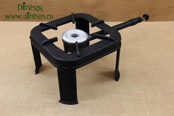Cast Iron Gas Boiling Ring No25/12 56 kW Three-Legged