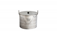 Stock Pot Stainless Steel 50x40 0.8 mm with Bottom 1.2 mm 75 lit Seventh Depiction