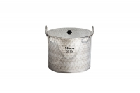 Stock Pot Stainless Steel 37x26 1.2 mm with Bottom 1.5 mm 25 lit Seventh Depiction