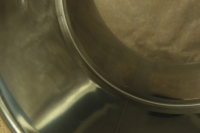 Stock Pot Stainless Steel 68x56 1.2 mm with Bottom 1.5 mm 200 lit Fourth Depiction