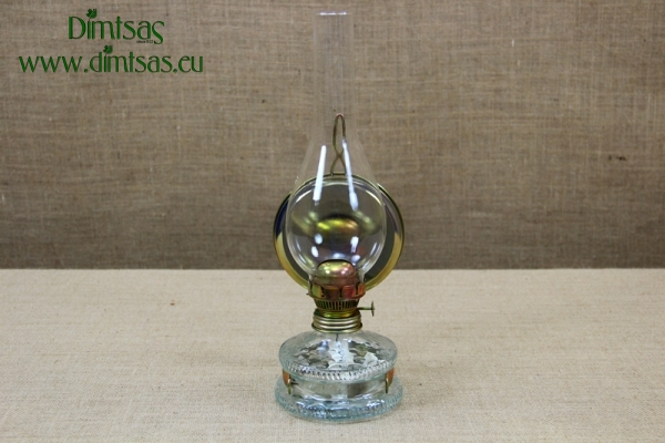Oil Lamp No11 with metallic Reflector