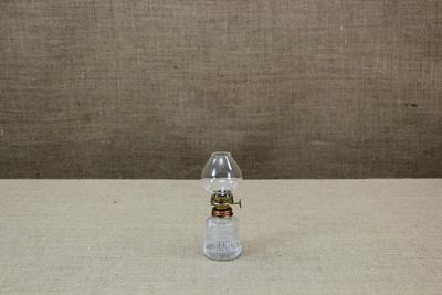Λάμπα Πετρελαίου Γυάλινη Νο5 με μεταλλικό Ανακλαστήρα