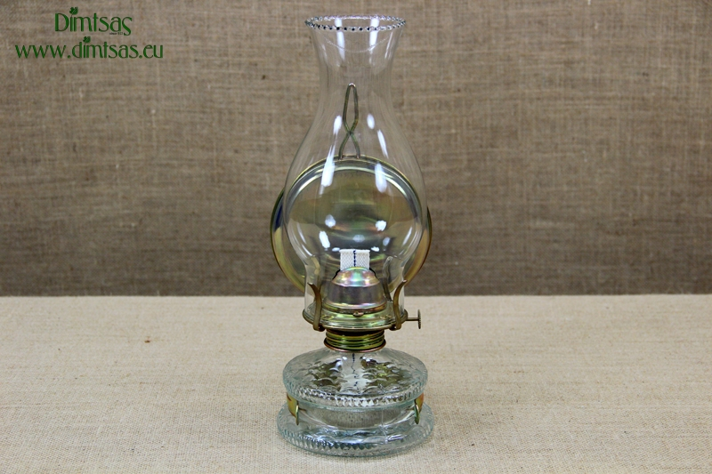 Oil Lamp Eagle With Metallic Reflector