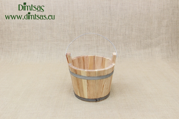 Bucket Wooden 11 liters