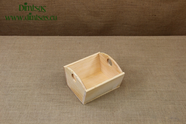 Wooden Dough Bowl with 1 Partition