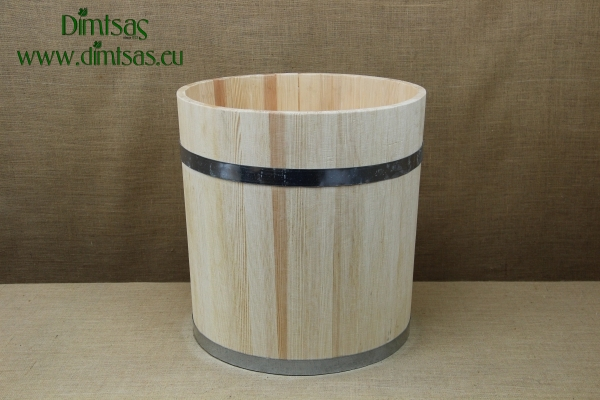 Wooden Barrel for Decoration 55x55 cm