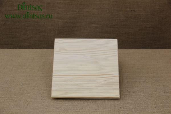 Wooden Cutting Surface - Wooden Serving Plate Square No1