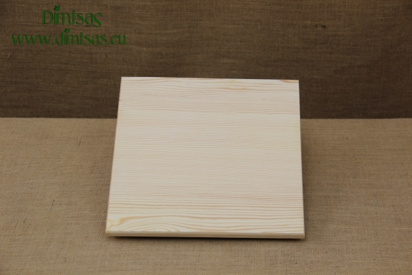 Wooden Cutting Surface - Wooden Serving Plate Square No2