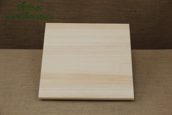 Wooden Cutting Surface - Wooden Serving Plate Square No3