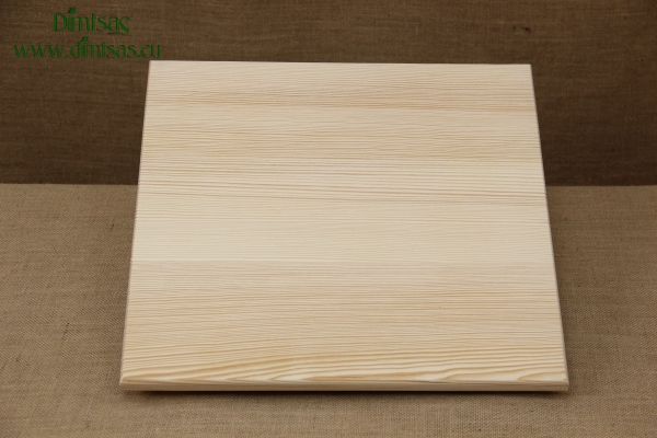 Wooden Cutting Surface - Wooden Serving Plate Square No4